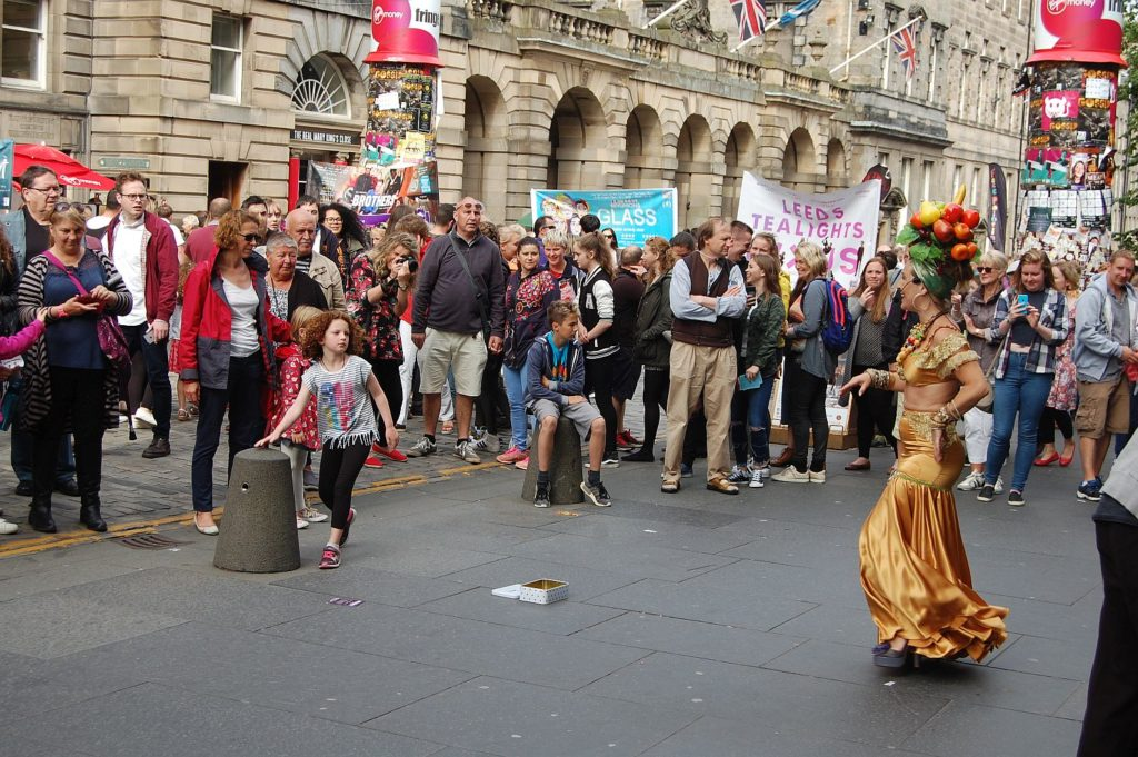 One of the pluses of moving from Manchester to Edinburgh is the famous Edinburgh International Festival.