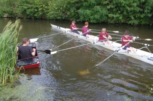 Moving from Oxford to Edinburgh - no need to stop rowing!
