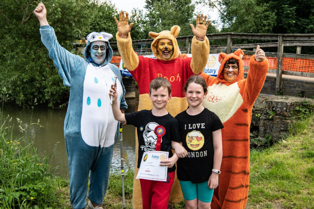The World Poohsticks Championships is just one of the many festivals you'll be able to attend if you're moving from Edinburgh to Oxford.