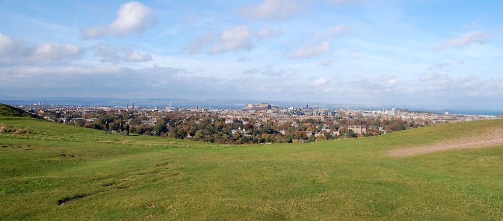 After using our Birmingham to Edinburgh removals service, you can visit this beautiful spot - Blackford Hill - whenever you want.