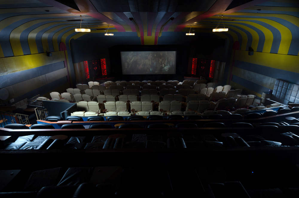Moving from Manchester to Edinburgh? Visit the luxurious Dominion Cinema!