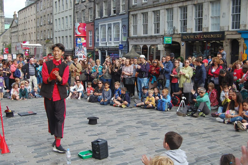 The Edinburgh Festival - something you'll become familiar with after you have used our Manchester to Edinburgh removals servie!
