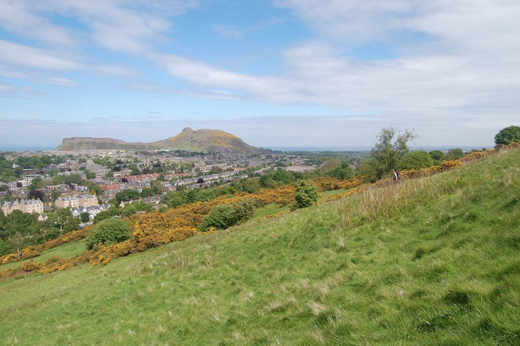 After using our Oxford to Edinburgh removals service you'll be able to walk on Blackford Hill whenever you want.