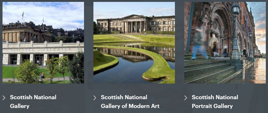if you're moving from Manchester to Edinburgh you'll find some great galleries!
