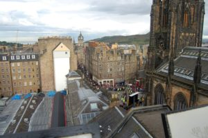 After using our Newcastle to Edinburgh removals service, you can visit Edinburgh's Old Town every day.